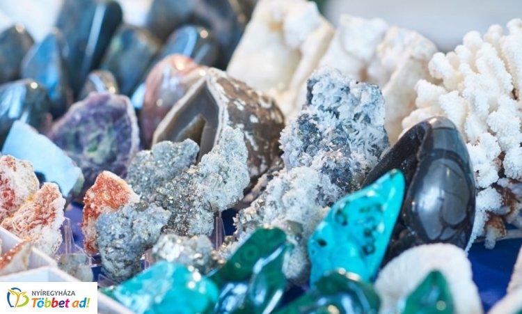 XXIII. Nemzetközi Ásványbörze Nyíregyházán - ásványcsodák a VMKK-ban