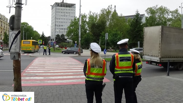 Zebra terv – A közlekedők kiemelt rendőri jelenlétre számíthattak négy napon át
