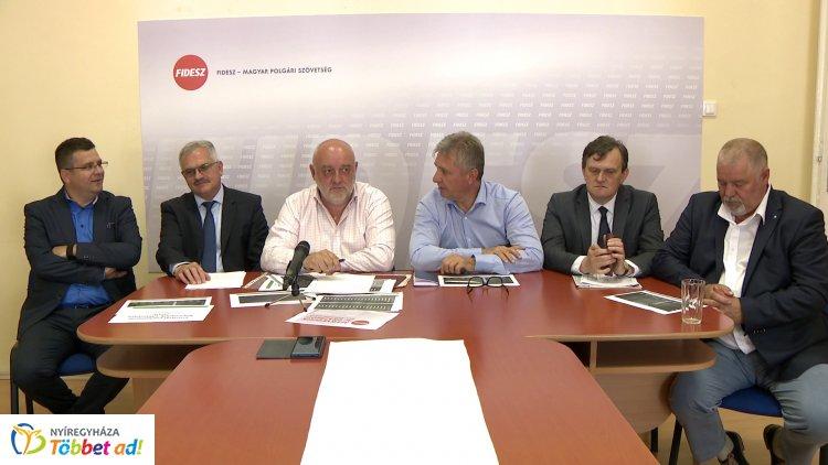 Büszkék az EP választás megyei eredményére a Fidesz szabolcsi vezetői és képviselői