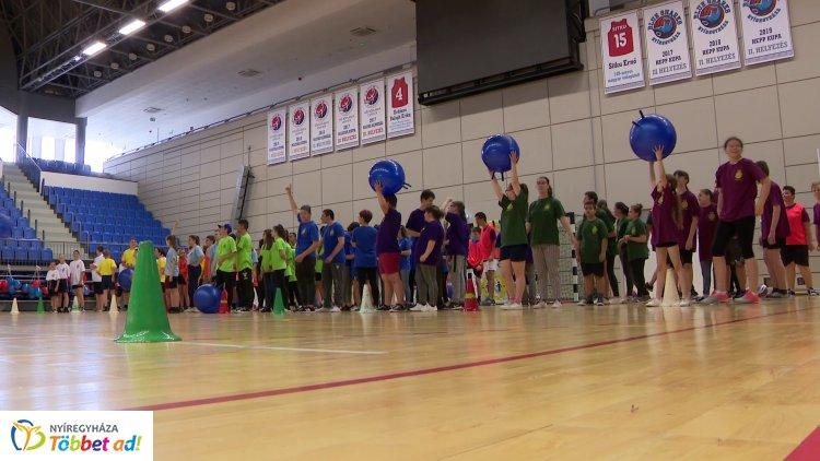 Harmadik alkalommal rendezte meg a Rotary és Nyíregyháza MJV az Integrált Sportversenyt