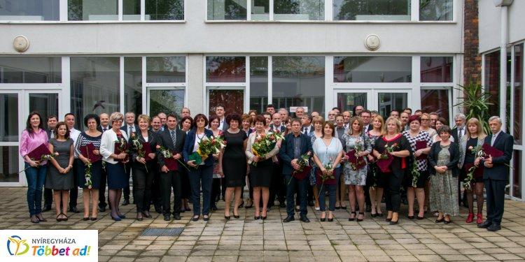 Pedagógus ünnepség a Nyíregyházi Szakképzési Centrumban – Díjak és elismerések