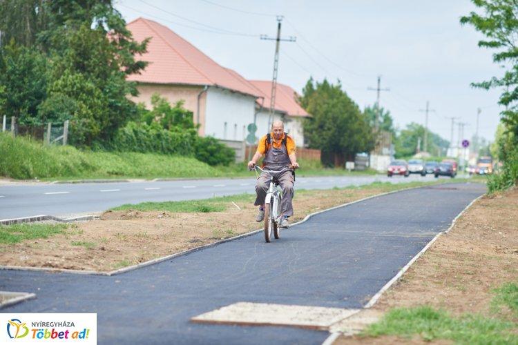 Újabb nyolc kilométerrel bővül a hálózat - Nemsokára Borbányáig bringázhatunk