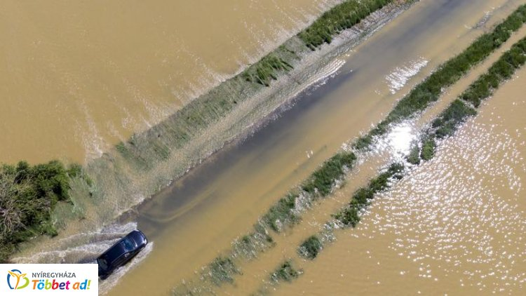 Elsőfokú az árvízi készültség helyenként az országban