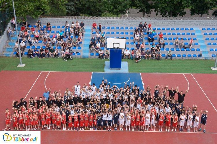 NYIKSE Basketball Day - több mint 150 gyerek kosarazott egész nap