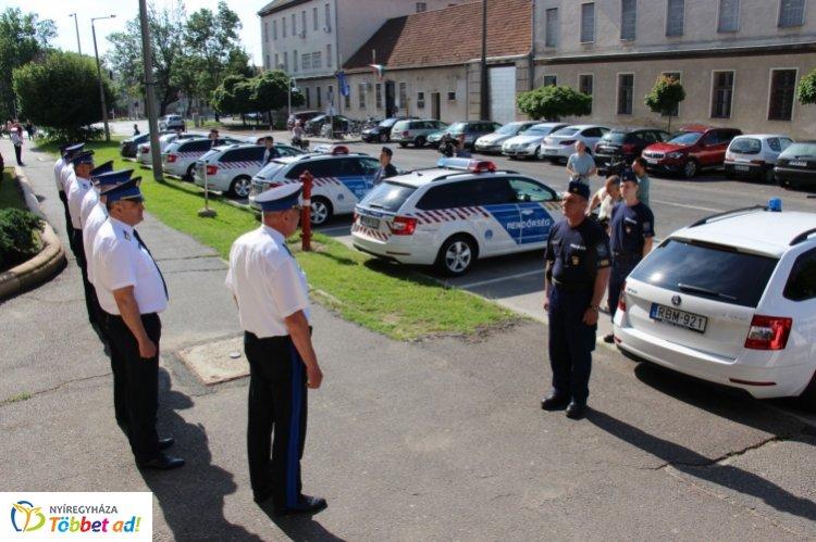 Új szolgálati gépkocsik a Szabolcs-Szatmár-Bereg Megyei Rendőr-főkapitányság flottájában