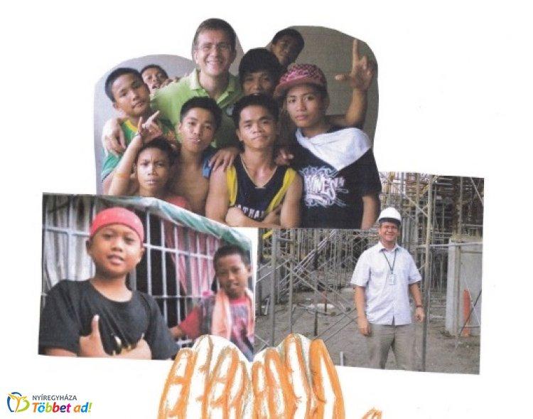 Missziós tevékenység a Fülöp-szigeteken - Lányi Béla előadása a KÉSZ rendezvényén