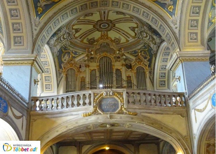 Zenés áhítat a nyíregyházi evangélikus nagytemplomban, június 16-án
