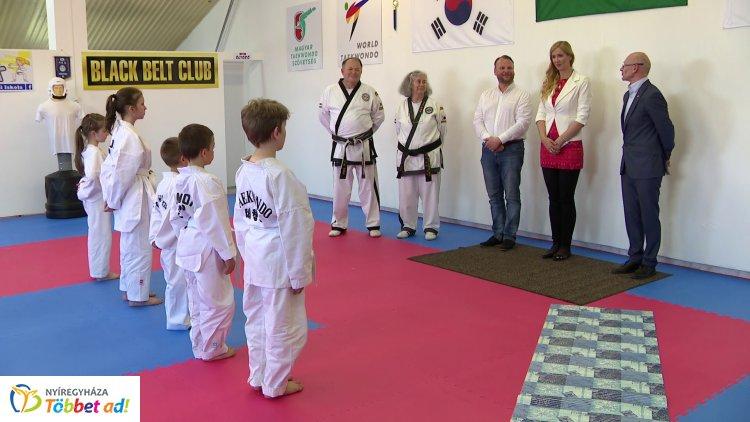 Taekwondo teremmel gazdagodott a Nyíregyházi Vasutas Sport Club