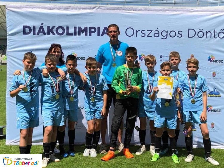 Diákolimpiai bajnok - Az Eötvös nyerte a labdarúgóknál a finálét