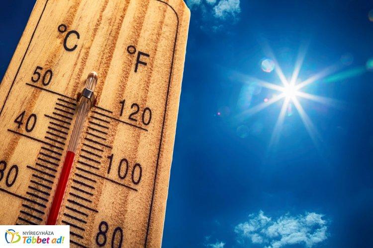 Hivatalos! Életbe lépett a hőségriasztás, vasárnap éjfélig lesz érvényben!