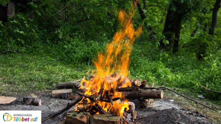 OKF: idén már több mint hétezer szabadtéri tűzhöz riasztották a tűzoltókat