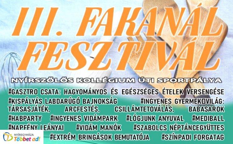 23 főzőcsapat és 14 focicsapat méri össze tudását a III. Fakanál Fesztiválon, szombaton!