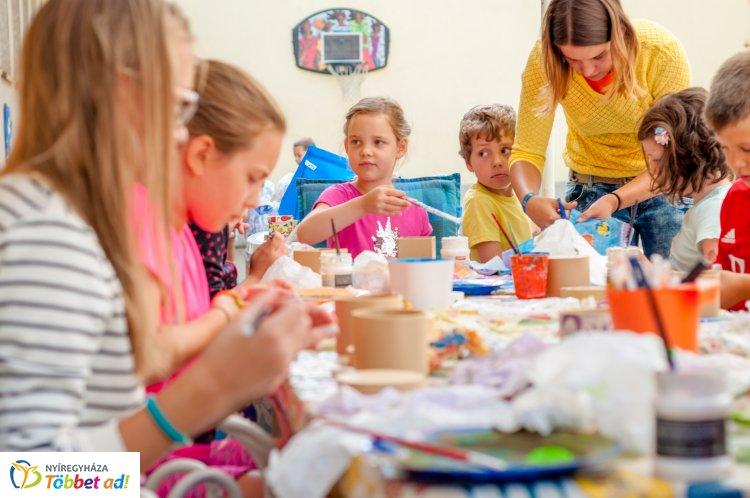 Borbányai kézműves tábor 5-12 éveseknek, a nyári szünidőben