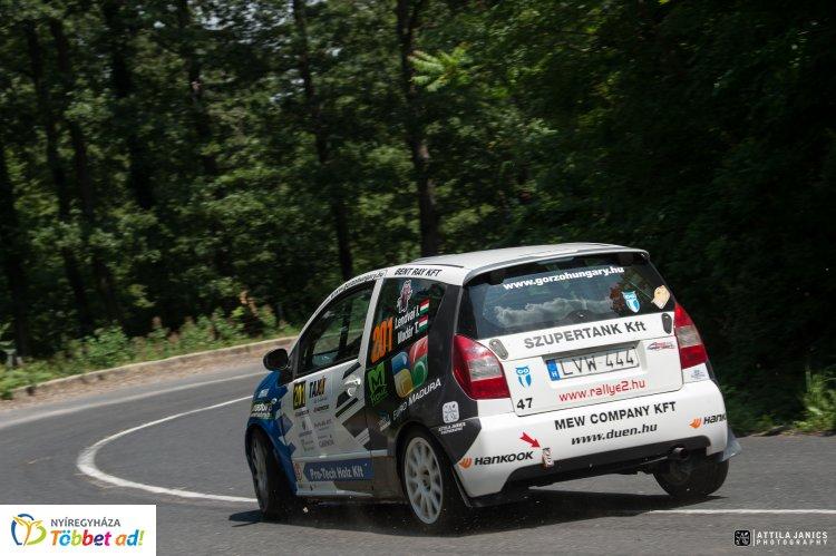 Izgalmas verseny, megyei pilótákkal - nagy csaták a Székesfehérvár rallyn
