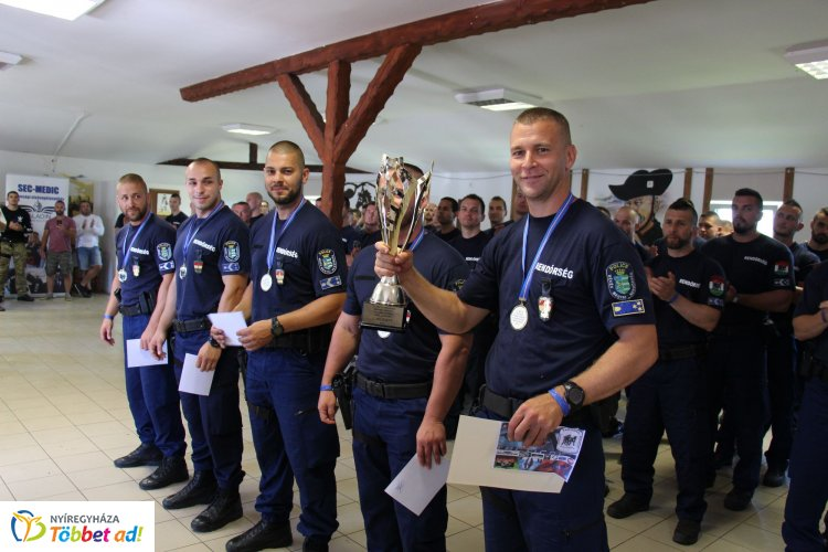 Plajner Ferenc tiszteletére rendeztek versenyt – Bajtársukra emlékeztek a megyei rendőrök