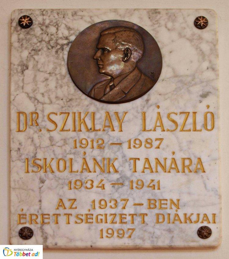 Amiről az utcák mesélnek - Dr. Sziklay László emlékére