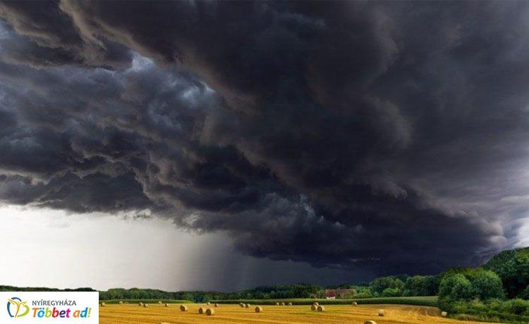 Jéggel és viharokkal érkezett a lehűlés – Így söpört át az országon
