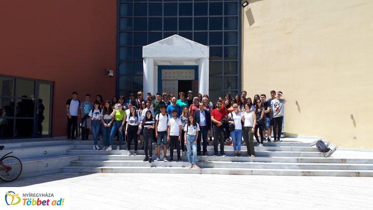 Lettország után Görögországba utaztak az Arany Erasmus+ programjában részt vevő diákjai