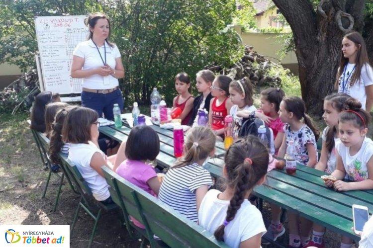 A nyár veszélyeire hívták fel a gyerekek figyelmét