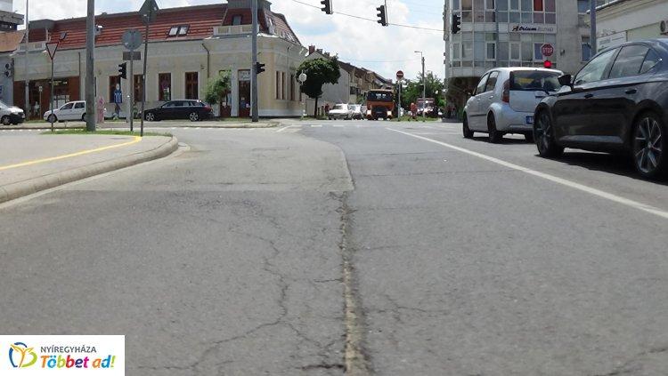 Újabb útfelújítások kezdődnek meg Nyíregyházán péntektől