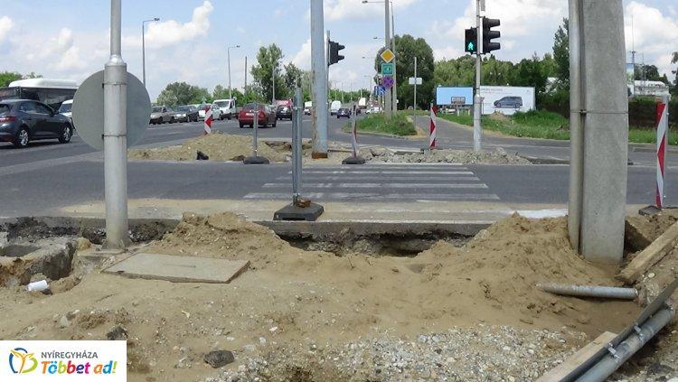Forgalomkorlátozás a Debreceni úton - Nemcsak a gépjármű forgalom érintett