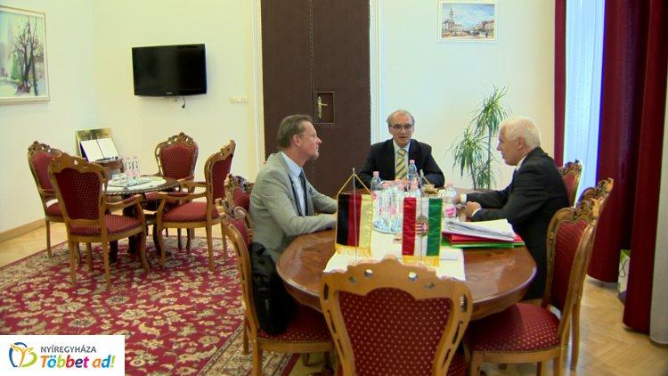 Különleges vendég a Németországi Szövetségi Köztársaság budapesti nagykövetségéről
