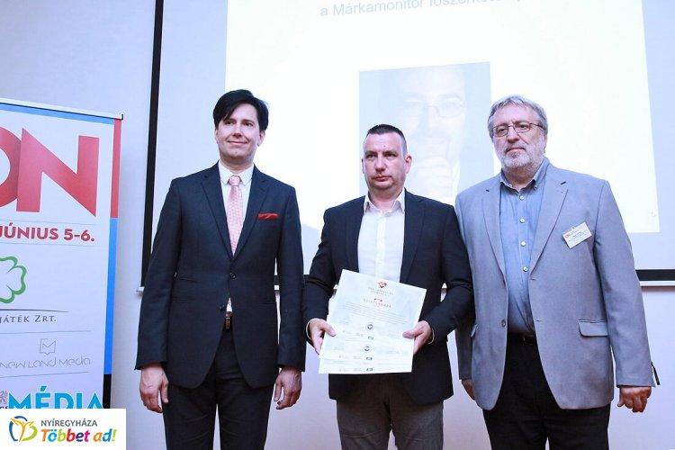 Városmarketing gyémánt díjat nyert Nyíregyháza, három kategóriában