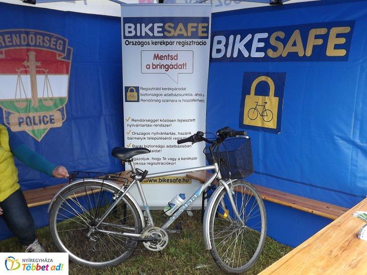 Legyen a kerékpárja biztonságban - Regisztrálja a rendőrség rendszerébe!