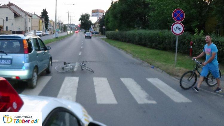 Egy zebra, két baleset egy napon - Gyalogost és kerékpárost is gázoltak