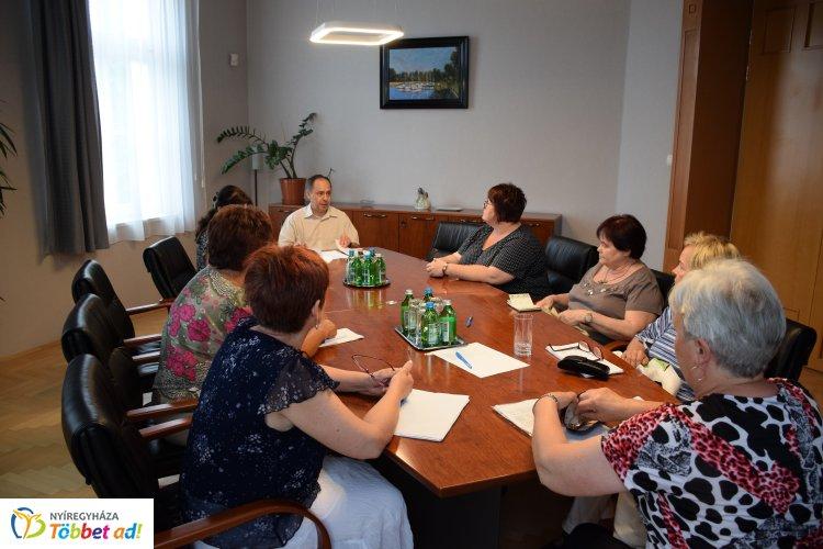 Ülnöki értekezletet tartottak a Nyíregyházi Törvényszéken