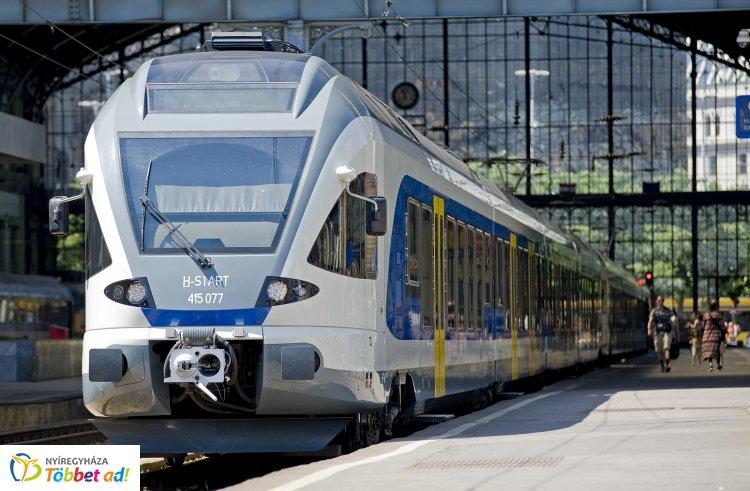 Nagy népszerűségnek örvend az utasok körében a Nyíregyházáról induló Televonat