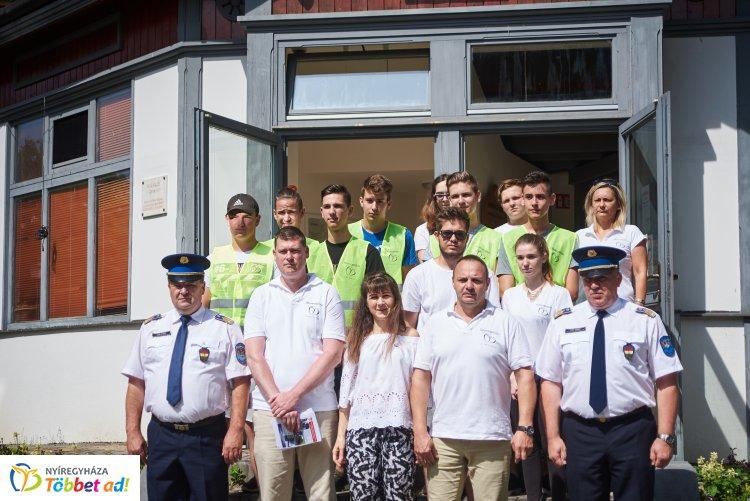 Tourist Police Nyíregyházán – Diákok is közreműködnek a bűnmegelőzés jegyében