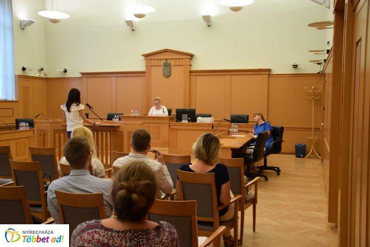 Pervezetési verseny a Nyíregyházi Törvényszéken – Izgalmakból nem volt hiány!