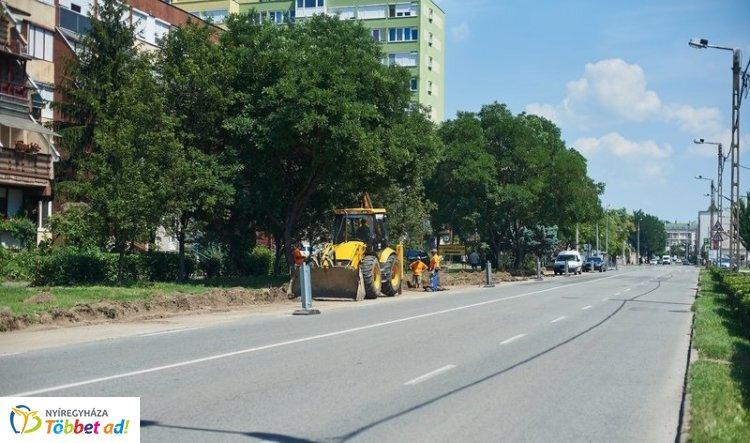 Újabb útfelújítás hat fontos szakaszon – A Rákóczitól a Blaháig