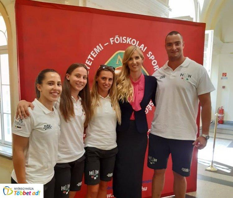 Esküt tettek az Universiadéra utazó sportolók - négy nyíregyházi a keretben