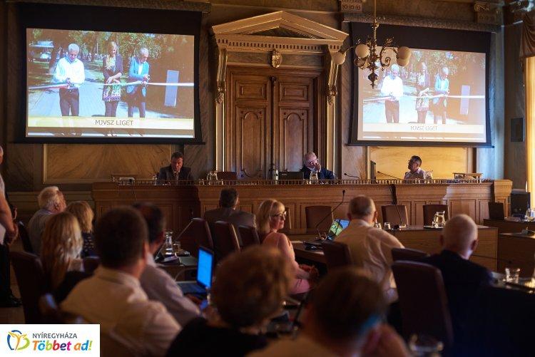 Újabb támogatásról tett bejelentést Nyíregyháza polgármestere a közgyűlésen