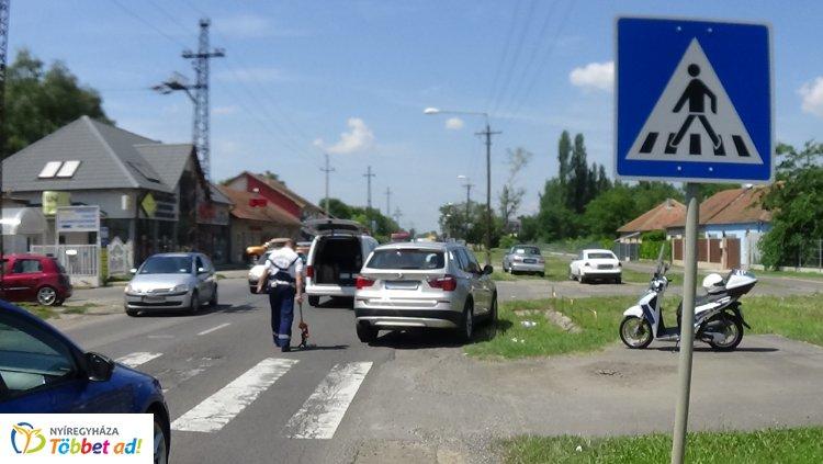 Kijelölt gyalogos-átkelőhelyen gázoltak el egy férfit a Tokaji úton, kórházba szállították