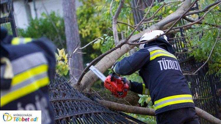 Minden ismert káreset felszámolásra került – 2500 helyszínen intézkedtek a vihar után