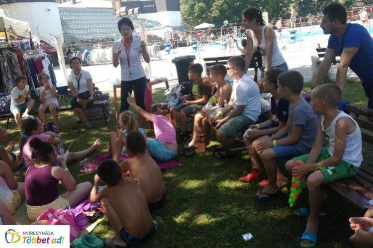 Bűnmegelőzés Nyíregyházán – A nyári táborokban sem maradnak el az előadások!