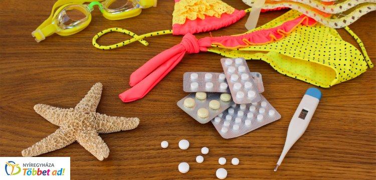 Hasznos tippek! – Milyen gyógyszereket vigyünk a nyaralásra?
