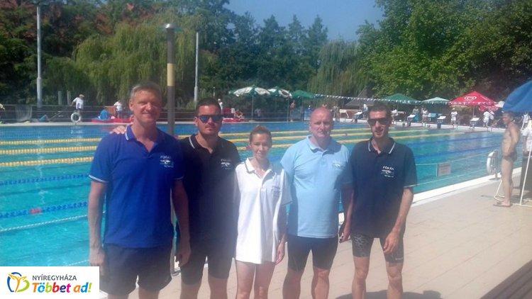Nyolc bajnoki cím és számos érem - országos bajnokságon a szenior úszók