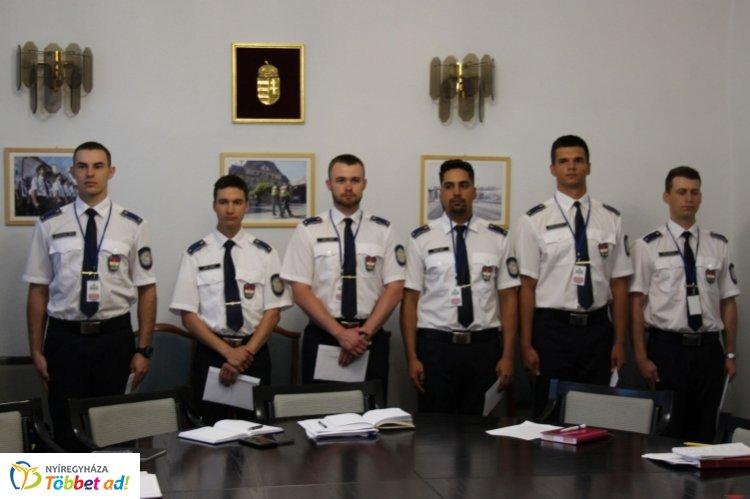 Ifjú rendőrtisztek Szabolcs-Szatmár-Bereg megyében – Megkezdték a szolgálatot