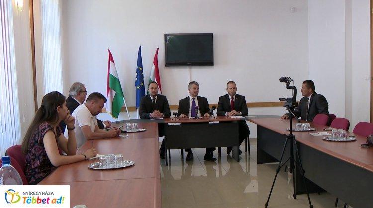 A Szövetségben Nyíregyházáért polgármesterjelöltetje Jeszenszki András lett