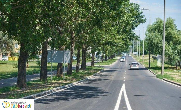 Örökösföld számos útja, járdája és buszöble újult meg az elmúlt időszakban
