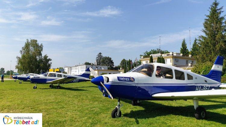 Nyári gyakorlaton a nyíregyházi kadétok – Nyíregyháza élen jár a pilótaképzésben