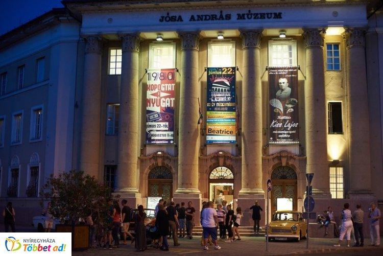 Két tárlatot is nyitottak a Múzeumok Éjszakáján a Jósa András Múzeumban