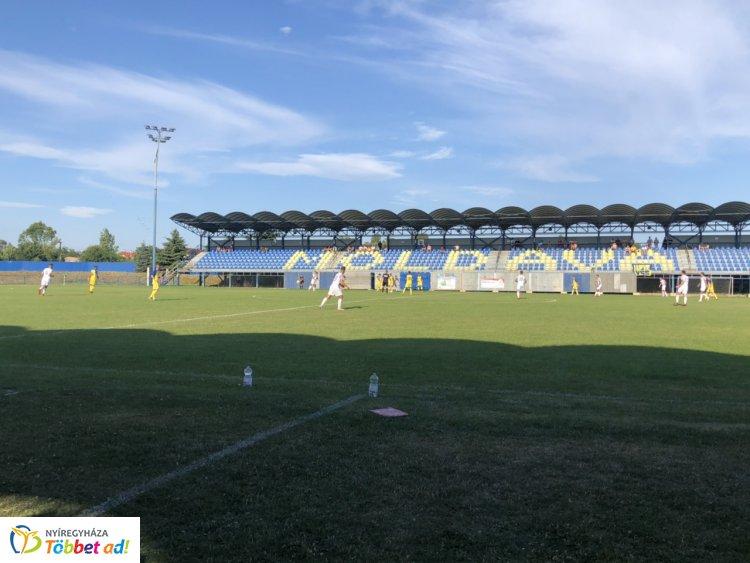 Edzőmeccset nyert a Szpari - a Kassa ellen játszott a Nyíregyháza