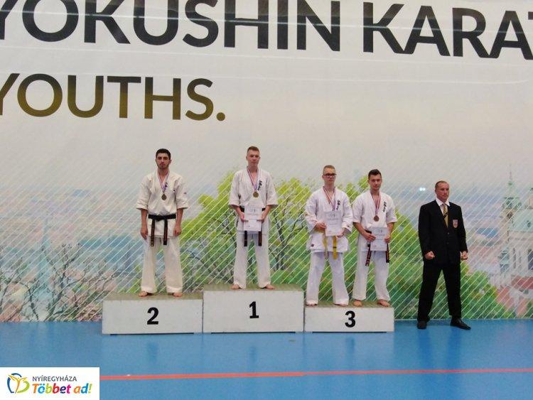 Karate Európa-bajnokság Csehországban - nyíregyházi bronzéremmel