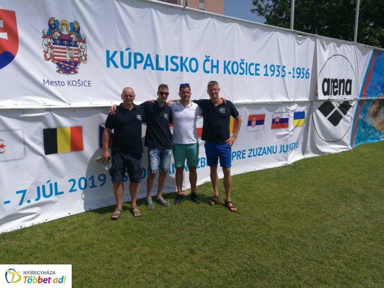 Arena Slovakia Swimming Masters Cup - érmeket szereztek a Nyíregyházi Fókák
