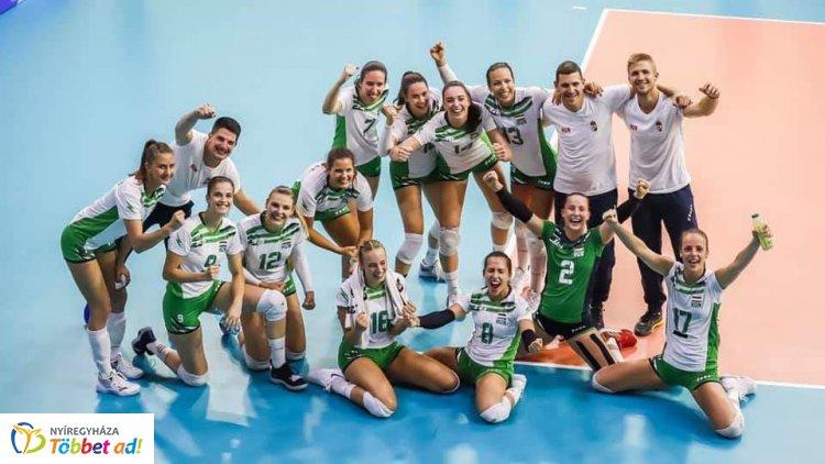 Elődöntőben a női röplabda válogatott az Universiadén - Kanadát is legyőzték a mieink
